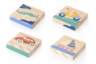 Puzzle en bois Transports