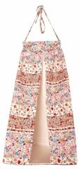Range Pyjama - Porte Couches Fleurs Rouges