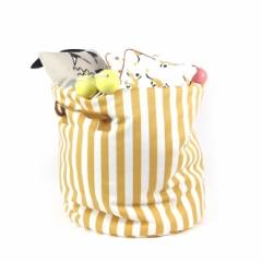 Sac à jouets Baobab Stripes L