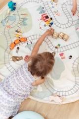 Sac tapis de jeu Trainmap