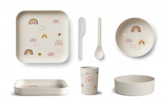 Set de vaisselle bambou Aiko