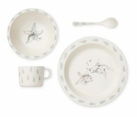 Set de vaisselle Bambou Aqua Theme