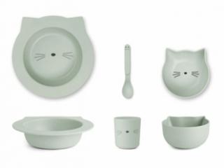 Set de vaisselle Chat Barbara Cat