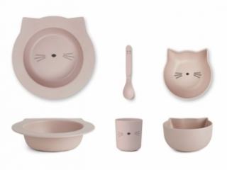 Set de vaisselle Chat Barbara Cat