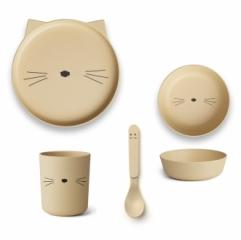 Set de vaisselle Chat Mr Cat