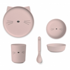 Set de vaisselle Cat
