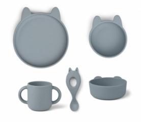 Set de vaisselle Vivi Rabbit le Lapin