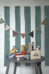 Souris Mouse, sa voiture et son garage