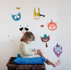 Sticker Animal party
