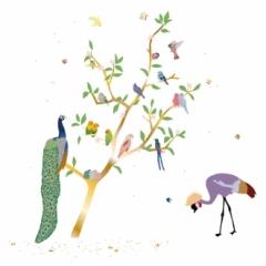 Sticker With the Birds