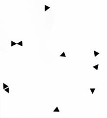 Stickers Mini Triangles