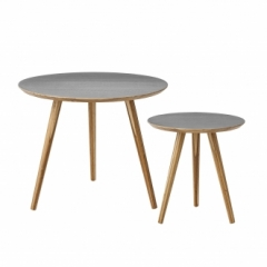 Table basse Cortado - Lot de 2