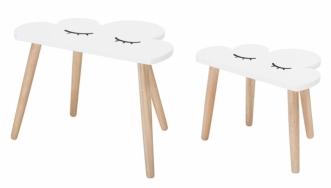 Table Cloud - Lot de 2