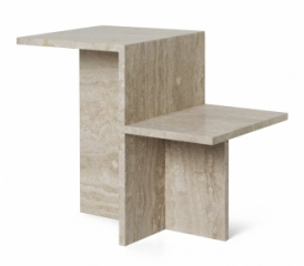Table d'appoint Distinct Travertine