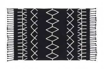 Tapis Bereber Noir 140x200