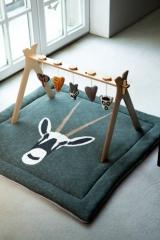 Tapis de jeu/parc en tricot Orix