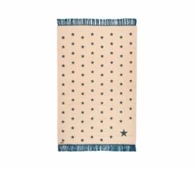 tapis-gypsy-pop-stars-beige-bleu-canard-varanassi