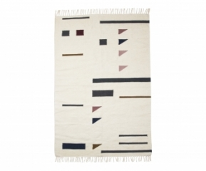 Tapis Kelim Triangles 140x200