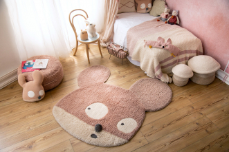 Tapis lavable Miss Mighty Mouse