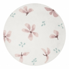 Tapis rond Windflower