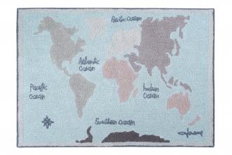 Tapis Vintage Map 140x200