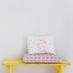 Coussin Pink Rabbit