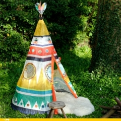 Tipi enfant multicolore