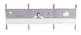 Tour de lit respirant Capuchon 60x120 et 70x140cm