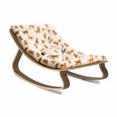 Transat pour bébé Levo - noyer Jaguar