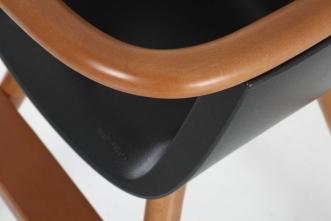 Chaise haute Ovo Luxe City avec harnais