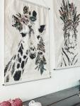 Affiche Girafe Crazy Giraffe