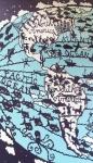Affiche World Map