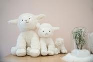 Peluche Edmond le Mouton 12 cm