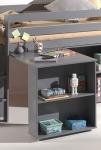 Bureau pour lit mezzanine mi-hauteur Wild