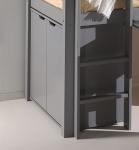 Commode pour lit mezzanine mi-hauteur Wild