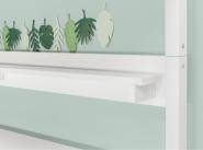 Lit mezzanine XL Nordic 90X200 echelle incl
