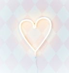 Lampe Néon Cœur