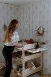 Table à langer Gustavienne