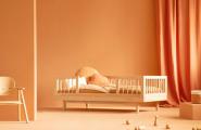 Lit Banquette + Barrière de Lit Pure 70x140