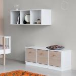Bilbliothèque Horizontale Wood 3x1