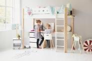 Bureau pour lit mezzanine white 200