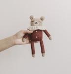 Doudou en tricot Ours Teddy
