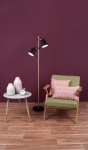 Lampe sur pied Duo Wood-Like