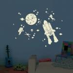 Sticker Phosphorescent Space Kit