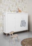Armoire basse 3 portes Wood
