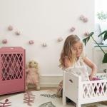 Armoire pour poupée Harlequin