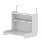Bureau Click-on pour lit mezzanine XL White
