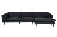 Canapé d'angle droit Rocky