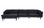 Canapé d'angle gauche Rocky