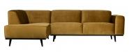 Canapé d'angle gauche Stan Velours